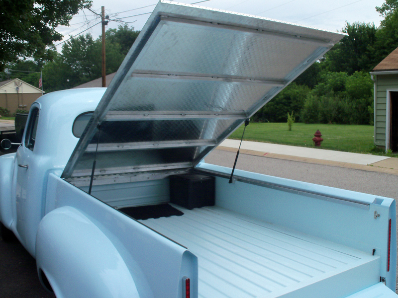 1952 Studebaker Custom Diamond Plate Bed Cover G Amp S