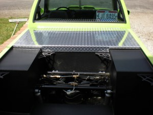 custom fabricated truck cover