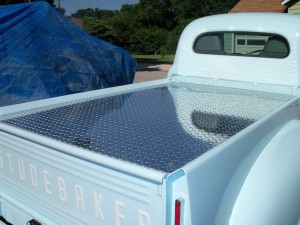 1952 Studebaker Custom Diamond plate Lid