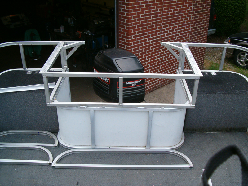 Pontoon Boat Modification G Amp S Fabricating