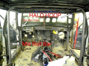 Jeep Cherokee Roll Cage