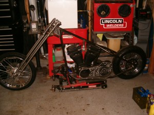 Custom Fabricated Vintage Chopper Frame